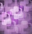 Abstract purple background with round rectangle vector image