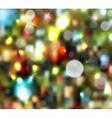 Christmas tree light background vector image