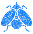 fly grunge icon vector image