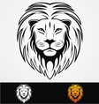 Lions Head Tribal Mascot vector image