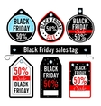 Black Friday Sales price vector image