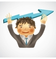 Successful business concept vector image