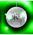 mirror disco ball EPS10 vector image