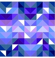 Seamless blue pattern or tile background vector image vector image