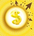 dollar design vector image