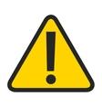 alert symbol isolated icon design vector image