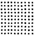 small black squares seamless pattern vector image