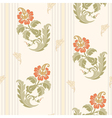 Decorative flowers in classic style vector image vector image