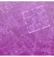 blueprint backdrop violet vector image vector image