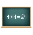 board mathematics vector image vector image