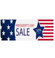 The presidential election big discount vector image