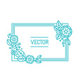 abstract frame and background vector image vector image