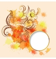Frame with sketchy doodles decorative ornament vector image