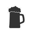 Icon of Beer mug or Beer glass vector image
