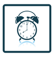 Icon of Alarm clock vector image
