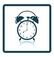 Icon of Alarm clock vector image