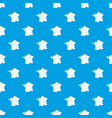 france pattern seamless blue vector image vector image