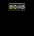 2013 year Background vector image vector image