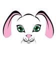 muzzle-bunny vector image