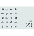 Set of sale icons vector image