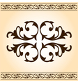 Decorative elements vector image