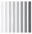 White Lath boards set isolated on white background vector image