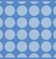 blue geometric seamless pattern design vector image