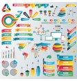 Infographic Elements Collection - Business vector image vector image