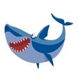 shark character vector image