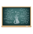 board chemistry vector image