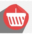 sticker shopping design vector image