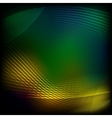 Abstract yellow-green background vector image