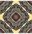 Seamless eastern pattern of mandalas vector image