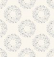 Stylish dots texture A seamless polka dot vector image