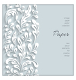 Paper swirls background vector image