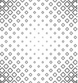 Abstract monochrome line square pattern background vector image