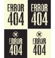 error 404 vector image