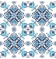 Seamless abstract floral pattern for fabric vector image