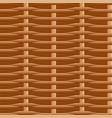wicker straw twigs seamless pattern vector image