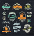 Sale Retro Labels vector image vector image