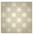 seamless pattern vintage floral background illus vector image vector image