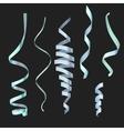 Confetti decoration element vector image