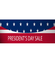 Presidential elections discount vector image