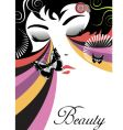 beauty vector image