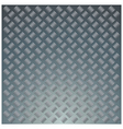 diamond metal plate vector image