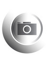 isolated web button vector image