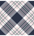 Check diagonal fabric texture seamless pattern vector image