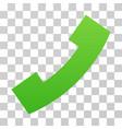 call gradient icon vector image