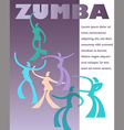 Zumba Art vector image vector image