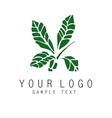 Plant symbol vector image